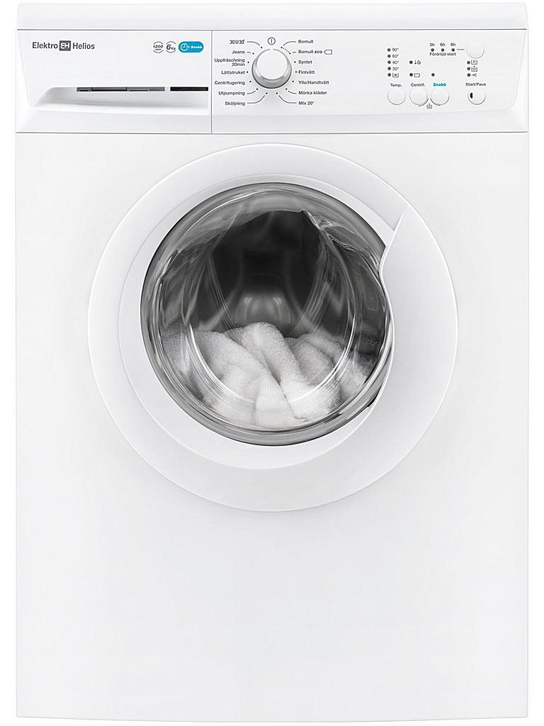 Tvättmaskin tf1279 elektro helios   elkedjan.se