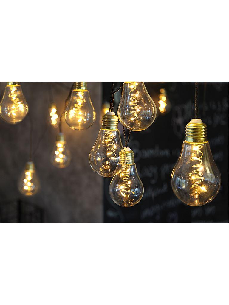 Markslöjd ljusslinga glödlampa  Bostadsrättsförening Läslampan