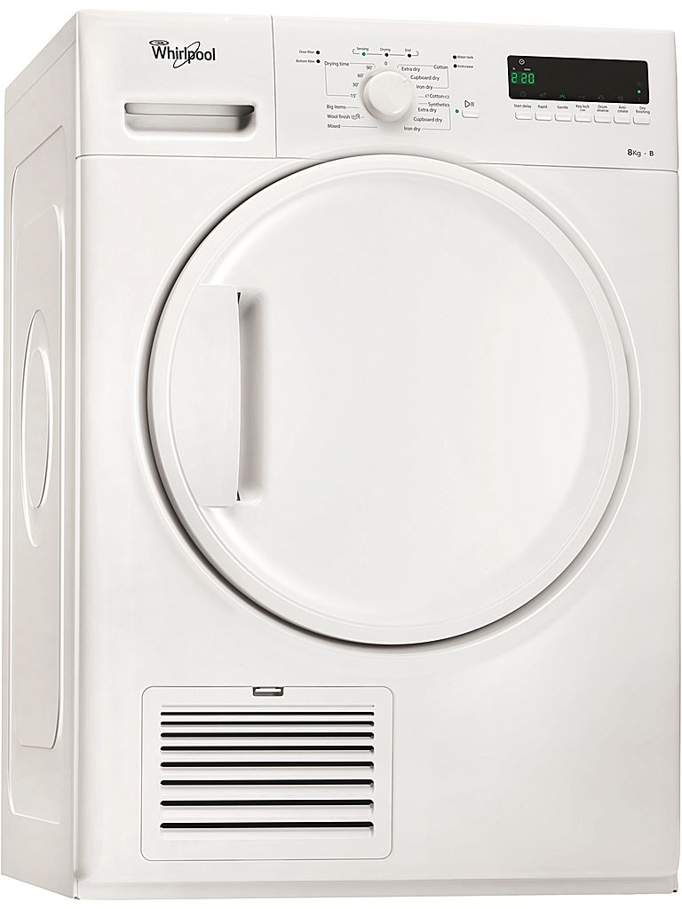 Torktumlare DDLX 80110 Whirlpool