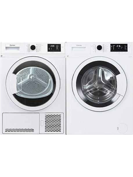 tvätt och torktumlare paket